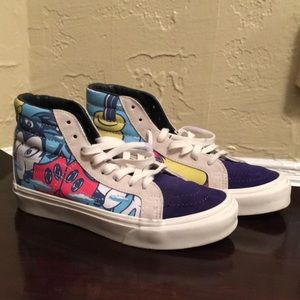 Disney x Vans Mickey Mouse Sneakers size 7